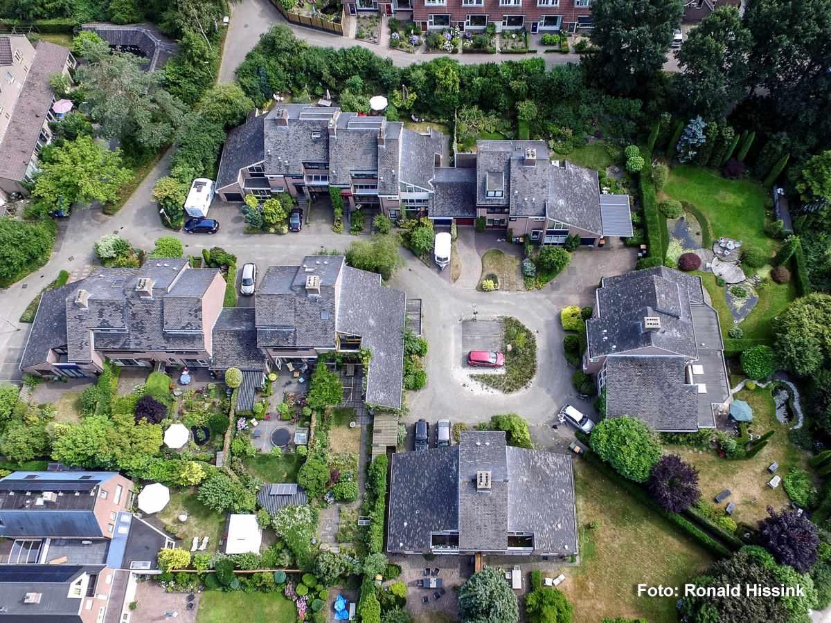Dronefoto Asbestdaken